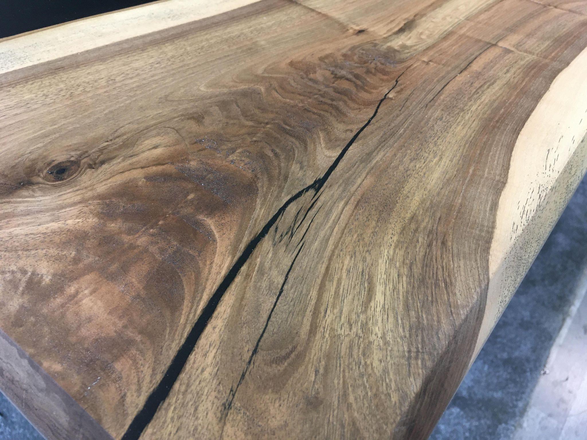 table epoxi noyer